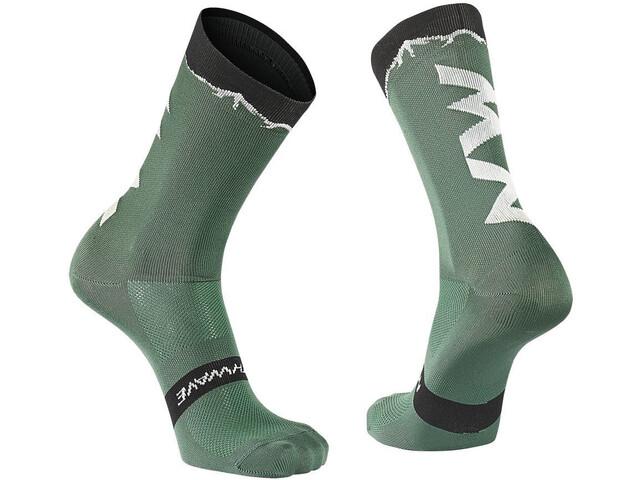 Northwave Clan Socks green forest/black